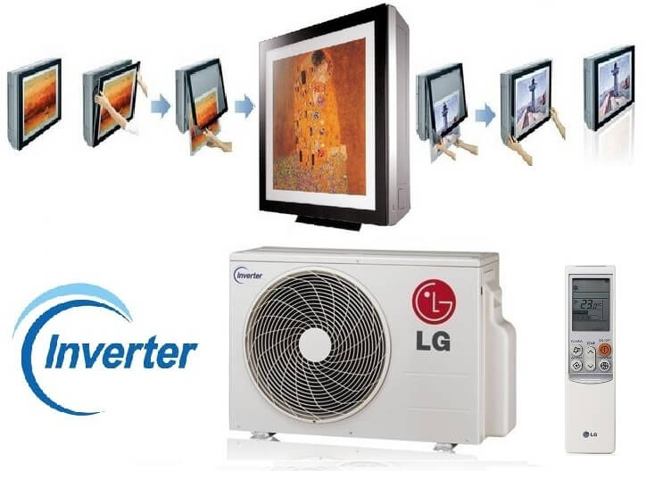 LG A09AW1 ARTCOOL Inverter